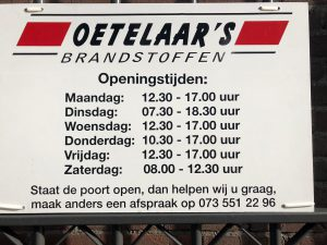 Brandstofhandel Van den Oetelaar Home